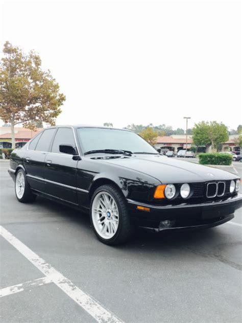 1989 bmw 535i for sale bmw 5 series 4 door sedan 1989 black for sale