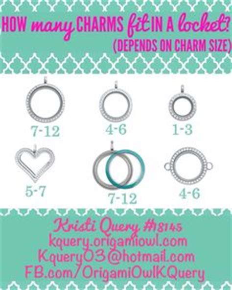 How Many Charms Fit In An Origami Owl Locket - origami owl on origami owl origami owl