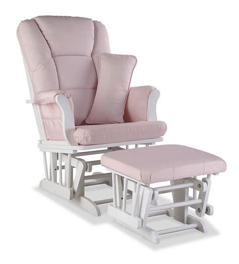 stork craft tuscany glider rocking chair ottoman storkcraft custom tuscany glider ottoman white pink