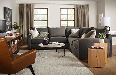 room and board orson sofa room board orson sectional nest pinterest