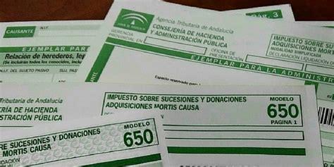 impuesto de sucesiones catalua 2016 en total 985 onubenses que heredaron en 2015 tuvieron que
