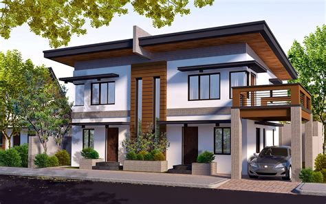 duplex housing rendered  vray  google sketchup