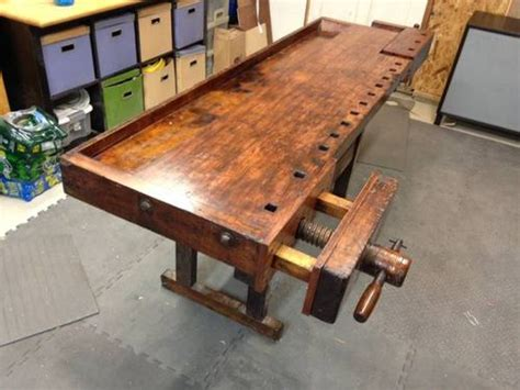 woodworkers workbench for sale sweet looking roubo type on n virginia craigslist by