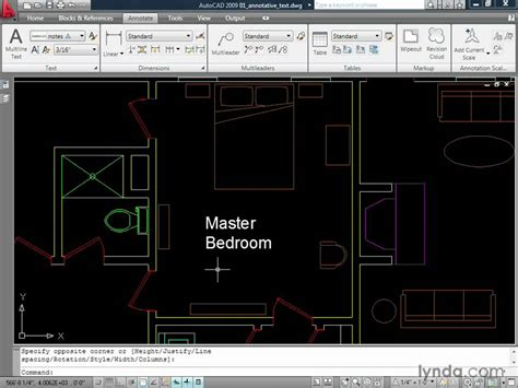 lettering tutorial lynda autocad how to create annotative text lynda com