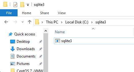 sql lite windows how to install sqlite3 on windows 10