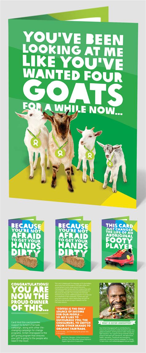 Oxfam Gift Cards - oxfam unwrapped gifts australia gift ftempo