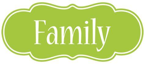 Familie Schriftzug by Family Logo