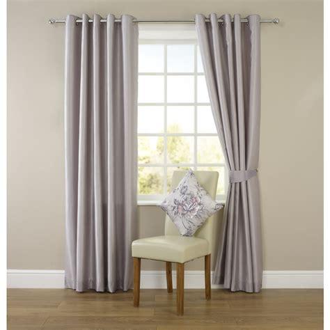 wilko faux silk eyelet curtains silver   cm wilko