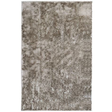 Reflections Area Rug by Lanart Silk Reflections Grey 3 Ft X 5 Ft Area Rug