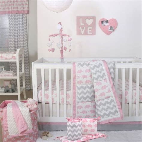 pink and grey elephant crib bedding 17 best ideas about elephant crib bedding on pinterest
