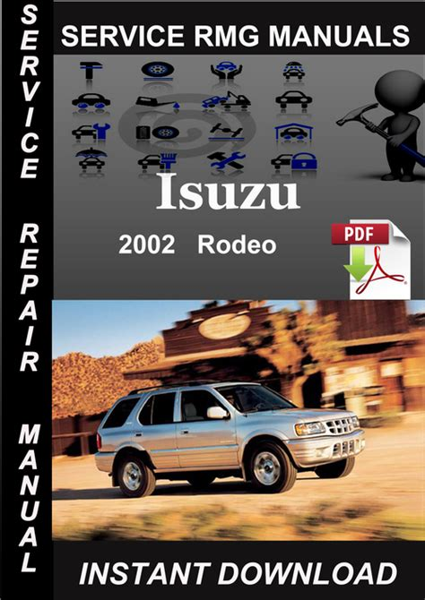 where to buy car manuals 2002 isuzu rodeo transmission control 2002 isuzu rodeo service repair manual download download manuals