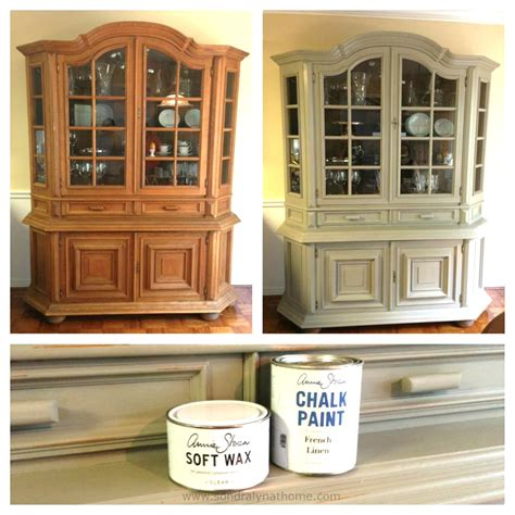 Kitchen Backsplashes With White Cabinets by Diy China Cabinet Chalk Paint Makeover Chalk Paint Dining