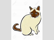 Siamese cat clipart - Clipground Free Clipart Of Siamese Cats