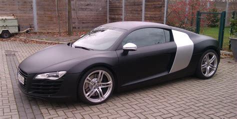 R8 mattschwarz : Frisch foliert : Audi R8 : #204252410