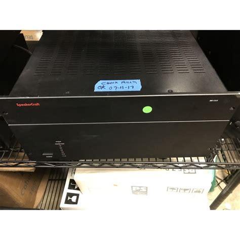 speakercraft bb multi channel power amplifier multi