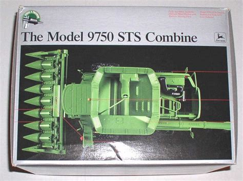 vintage rubber sts precision deere 9750 sts combine 1 32 series ii