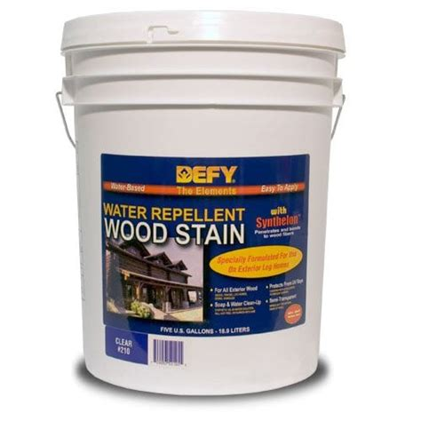 defy original water repellent wood stain defy wood stain