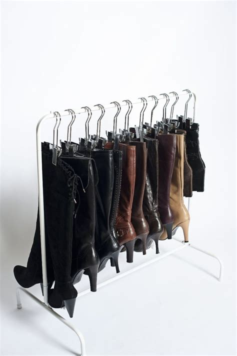 The Boot Rack the boot rack my closet