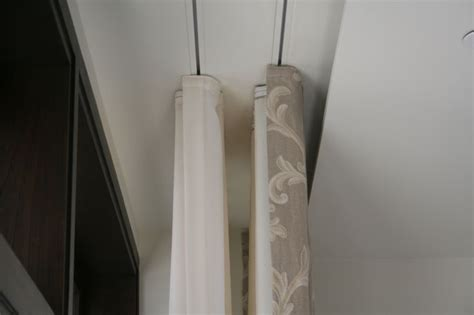 Curtains On Ceiling Track 22 Best Ceiling Mounted Curtain Rail Images On