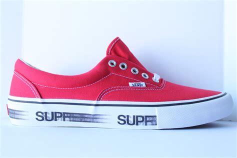 supreme x vans authentkicks supreme vans motion logo