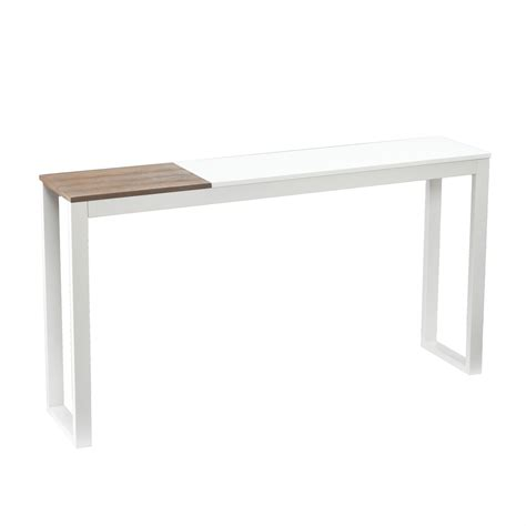 slim sofa table slim console tables that will add the sophistication of