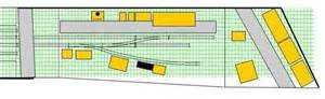 racetrack layout meaning crossover in restricted space layout track design rmweb