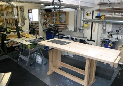 woodwork setting   small workshop  plans