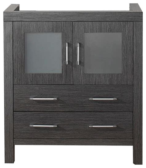 30 Bathroom Sink Cabinet Virtu Usa 30 Inch Zebra Grey Single Sink Cabinet Only