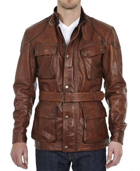 Button Jacket brad pitt benjamin button leather jacket brown leather