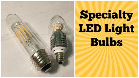 specialty led light bulbs specialty light bulb review kiven tubular led filament