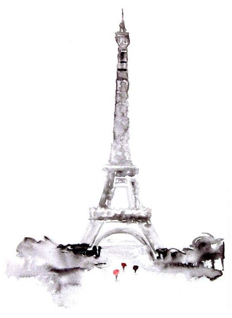 watercolor eiffel tower photos and