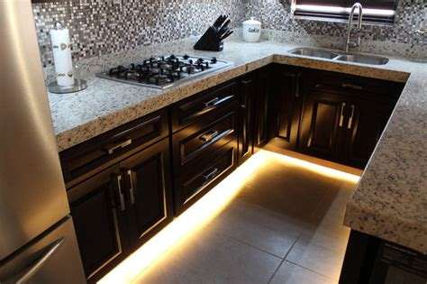 toe kick kitchen cabinets kitchen toe kick led lighting contemporary kitchen