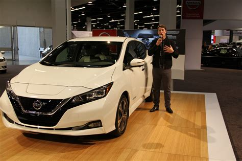 nissan spokesperson oc auto show debuts new hyundai accent nissan leaf and