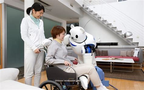 how to care for human serious the future this week robots and