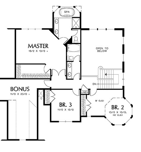 Kensington House Plan by Merrimac 4333 4 Bedrooms And 3 5 Baths The House Designers
