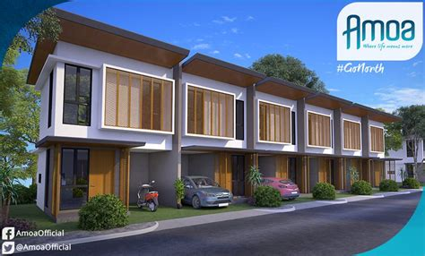 townhouse or house amoa residences townhouse compostela cebu cebu