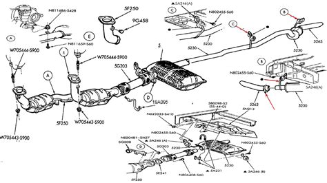 Exhaust System Layout 2000 Dodge Dakota Exhaust System Diagram 2000 Free