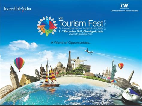tourism powerpoint template cii tourism 2013 an international on tourism