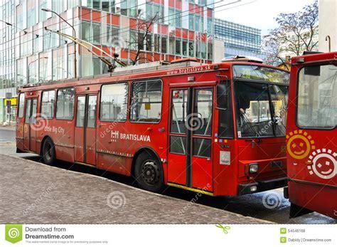 Blazer X8 Tr Economy skoda trolleybus in bratislava slovakia editorial stock photo image 54546168