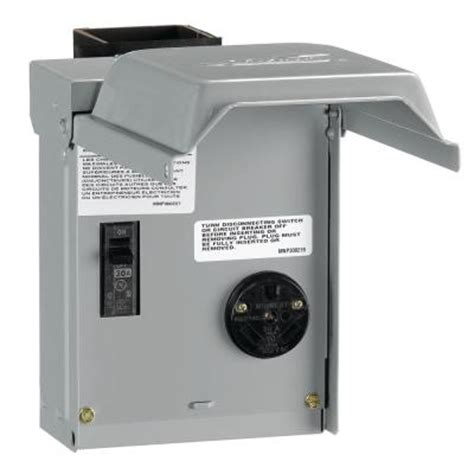 ge 30 temporary rv power outlet with breaker u013cp