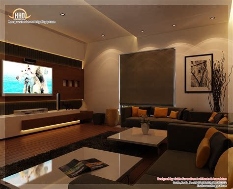 Home Interior Desing by Beautiful Home Interior Designs Kerala Home Design And