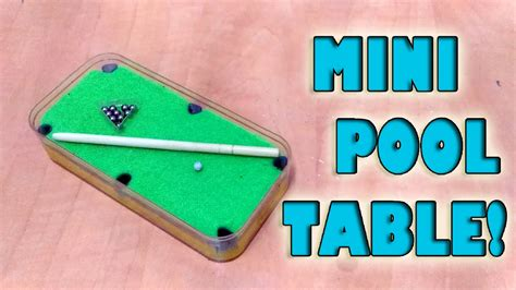 diy mini pool table how to mini pool table set diy