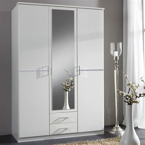Cheap White Wardrobe by Cheap White Wardrobe With Drawers And Mirror Fif