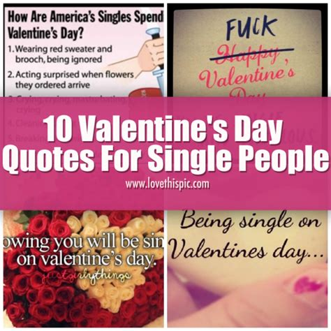 valentines day wishes for singles 10 s day quotes for single