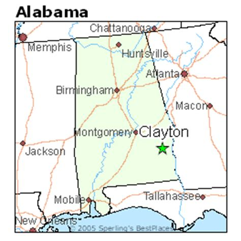 best places to live in clayton alabama