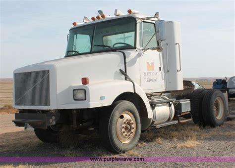 volvo gm heavy truck 1990 volvo white gmc wg42t semi truck no reserve auction