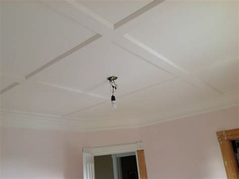 shallow coffered ceiling the woody housing project