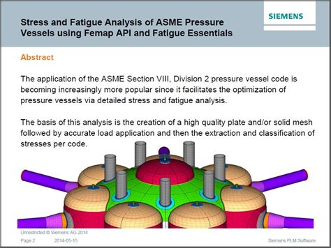pressure vessel design engineer job description asme viii pressure vessel design software