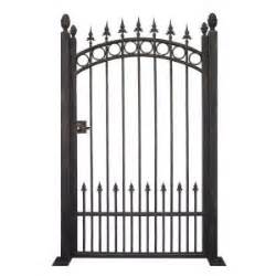 home depot iron fence home depot wrought iron trento garden gate metal fencing