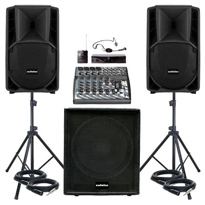Sound System Audoorindoor Paket 15 Inchi paket sound system seminar audioline paket sound system profesional indonesia